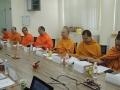 联合办学委员会会议和学院评审会议在佛学院召开