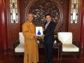 拜访中国佛教协会及国家宗教事务局