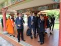 泰国摩诃朱拉隆功大学社会科学系访问新加坡佛学院
