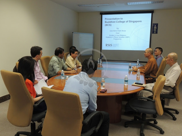 Visit By Staff Of The Studies In Inter-Religious Relations