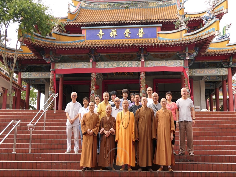达照大和尚参访新加坡佛学院