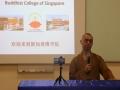 法藏法师到访新加坡佛学院